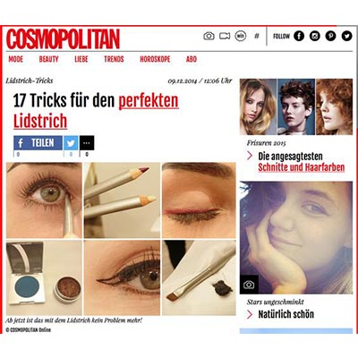Beauty PR: Make-up - Cosmopolitan