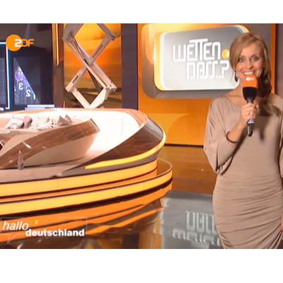 VIP Ausstattung: Sandra Maria Grunewald in CoutureOne