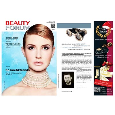 Beauty PR: Make-up - Kryolan im Beauty Forum