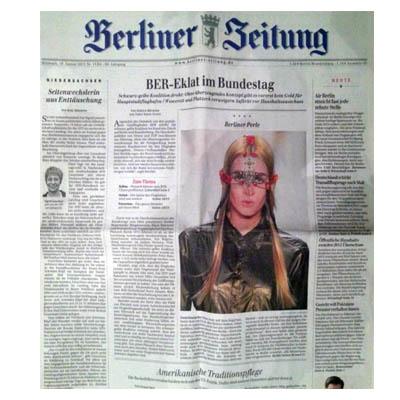 Mode PR: Berliner Zeitung