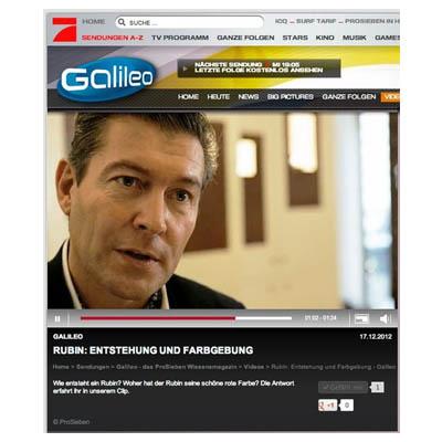 Jewellery PR: Galileo