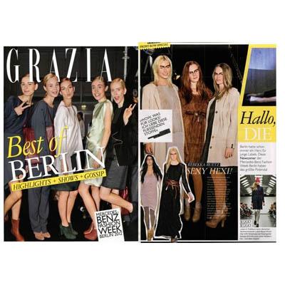Mode PR: Grazia