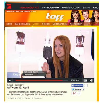 Fashion PR: ProSIeben taff