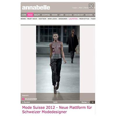 Mode PR: Annabelle