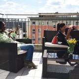 SPR|LC VIPs auf der Terrasse