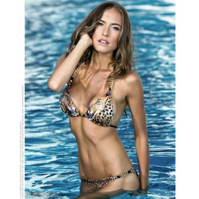 VIP Endorsement: Alena Gerber in Eniqua Beachclubwear