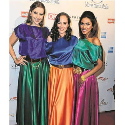 VIP Ausstattung: Verena Kerth und Sabrina Setlur-Nunez-Gomez_Sabrina_Setlur